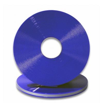 Biothane 25 mm blauw translucent reflectie