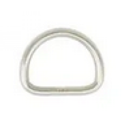 D-ring 20/4 mm RVS