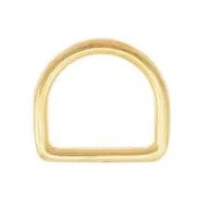 D-ring 25 mm messing