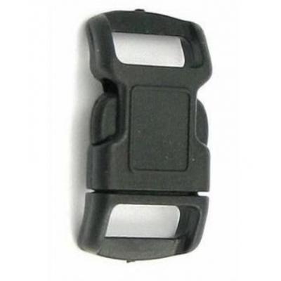 Side release gesp 13 mm zwart