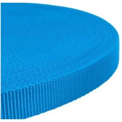 PPM band 15 mm geweven band blauw
