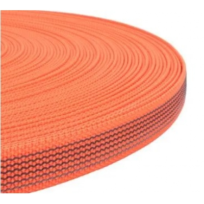 PPM band met rubber profiel 15 mm oranje