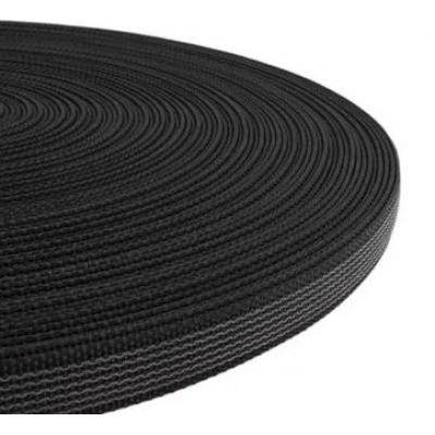 PPM band met rubber profiel 15 mm zwart