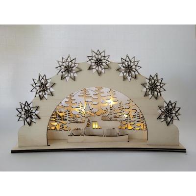 kerst light box herten