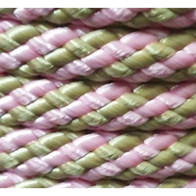 PPM touw 12 mm babyroze/beige
