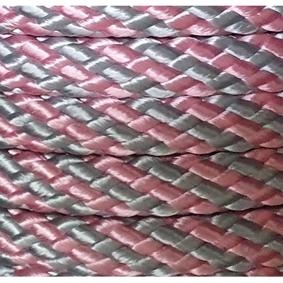 PPM touw 12 mm  babyroze/babyblauw