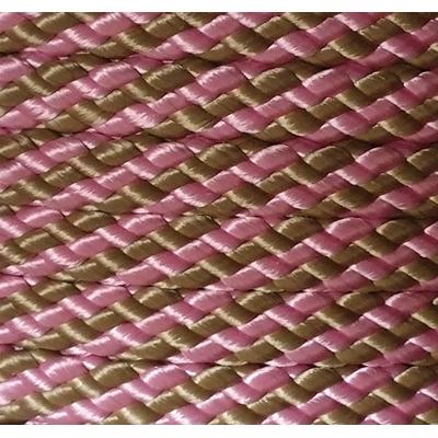 PPM touw 12 mm oud roze/ bruin
