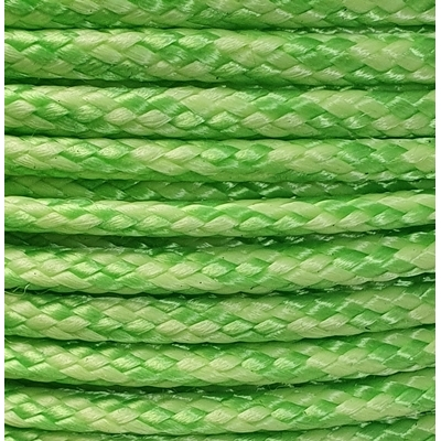 PPM touw 3.5 mm  lime/paars