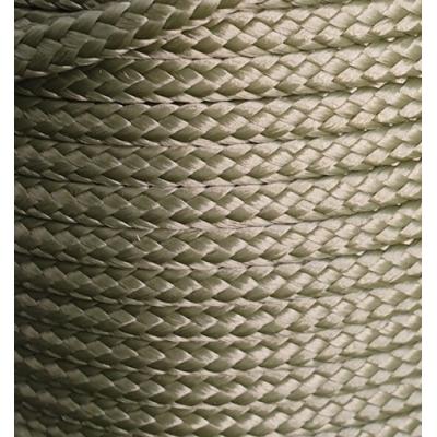 PPM touw 6 mm ongevuld  olijfgroen