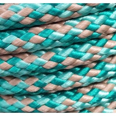PPM touw 12 mm zeegroen/beige/licht zeegroen